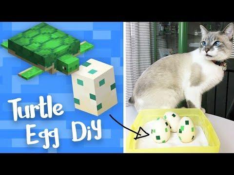 Minecraft Turtle Easter Eggs – StacyPlays DIY