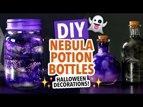 DIY Halloween Nebula Jar & Potion Bottles – HGTV Handmade