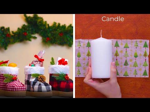 10 Amazing Holiday DIYs and Hacks!! DIY Christmas Decoration Ideas by Blossom