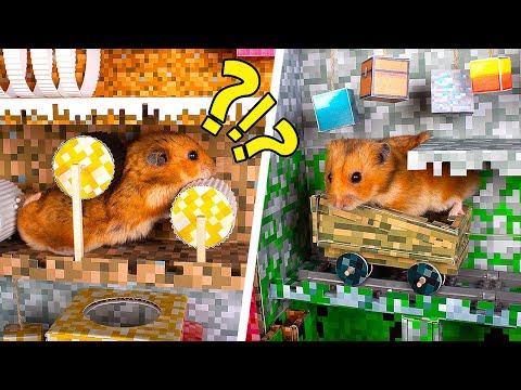 DIY Multi-Level Cardboard Maze In The Minecraft Style