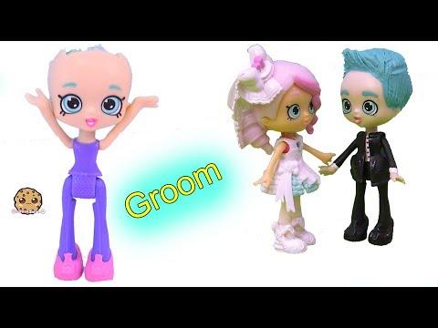 Groom Wedding  Doll Custom ! DIY Painting Craft Video Cookie Swirl C